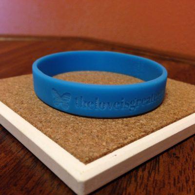 solidblue-wristband